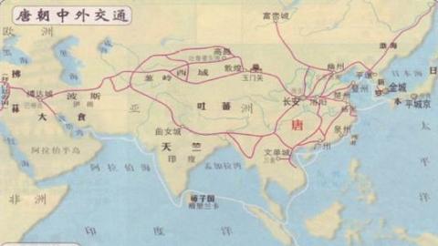 初一历史下册第六课唐朝的对外交往